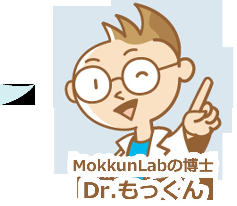 モックンラボ MokkunLabの博士 Dr.もっくん