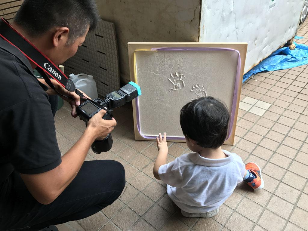 子どもにも優しい木の塗り壁